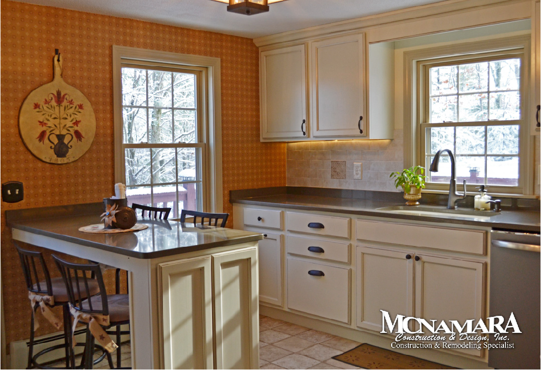 replacement kitchen cabinets mcnamara construction amp design inc home building and 1872